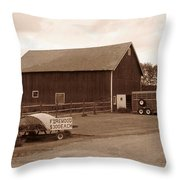 Firewood For Sale Throw Pillow