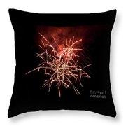 Fireworkd Throw Pillow
