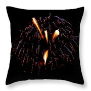 Fireworks 10 Throw Pillow