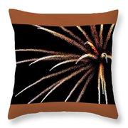 Fireworks 103 Throw Pillow