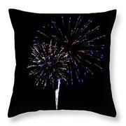 Fireworks 12 Throw Pillow
