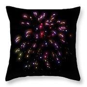 Fireworks 13 Throw Pillow