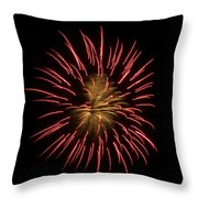 Fireworks 2 Throw Pillow