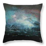 Fireworks 2018 Throw Pillow