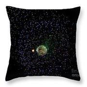 Fireworks 4 Throw Pillow