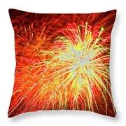 Fireworks 6 Throw Pillow