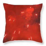 Fireworks A Different Persoective One Throw Pillow