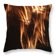Fireworks A Different Perspective Five Throw Pillow