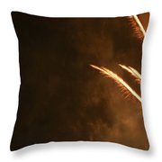 Fireworks As Art Two Throw Pillow