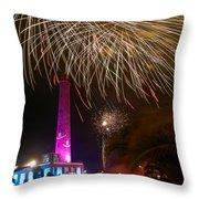 Fireworks At Maspalomas 1 Throw Pillow