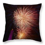 Fireworks At Maspalomas 2  Throw Pillow