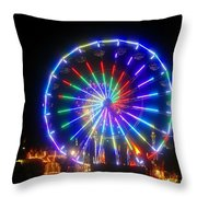 Fireworks At The Fair Throw Pillow