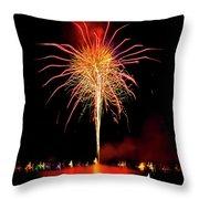 Happy Birthday, United States Of America 8 Throw Pillow