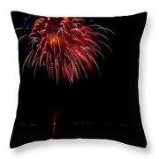 Fireworks II Throw Pillow