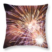 Fireworks In The Park 3 Throw Pillow