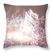 Fireworks In The Park 6 Throw Pillow