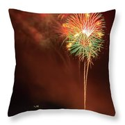 Happy Birthday United States Of America 15 Throw Pillow