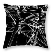Fireworks One Throw Pillow