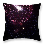 Fireworks Over Puget Sound 10 Throw Pillow