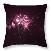 Fireworks Over Puget Sound 13 Throw Pillow