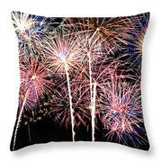 Fireworks Spectacular Throw Pillow
