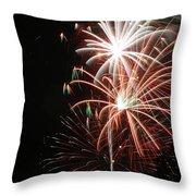 Fireworks6521 Throw Pillow