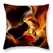 Firey Throw Pillow