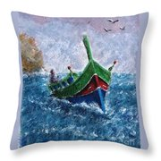 Firilla Gozitana  Throw Pillow