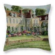 Firle Place England Throw Pillow