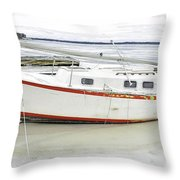 First 1 In  Throw Pillow