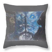 First And The Last Lion Throw Pillow
