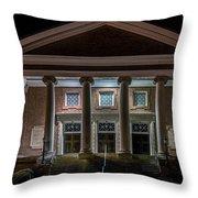 First Baptist Church Throw Pillow