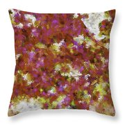 First Blossoms Of Spring-d Throw Pillow