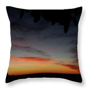 First Colors Throw Pillow
