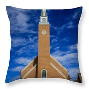 First Congregational Church Throw Pillow