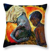 First Corinthians 1-25 Throw Pillow