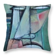First Day North Of The Tension Line Throw Pillow