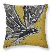 First Flight Original Painting Throw Pillow