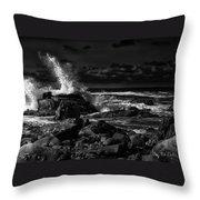 First Light - Kennebunkport Maine Throw Pillow