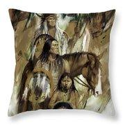 First Nation 67r Throw Pillow