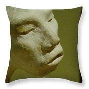 First Sculpture Throw Pillow