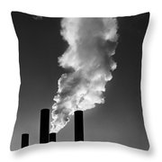 First Smokes Throw Pillow