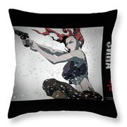 First Squad Throw Pillow