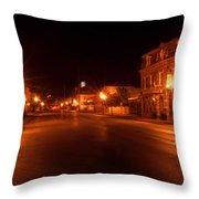 First Street Nocturne Throw Pillow