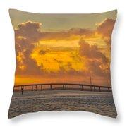 First Sunrise 2016 Throw Pillow