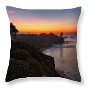 First Sunrise Of 2018 Throw Pillow