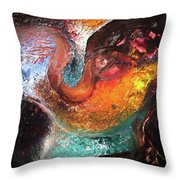 First Three Minutes - Minute 3 Throw Pillow