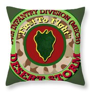 First To Fight Throw Pillow