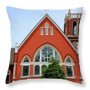 First United Methodist Church Tupelo Ms Throw Pillow