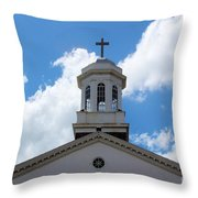 First United Methodist Of Plant City Fl Throw Pillow
